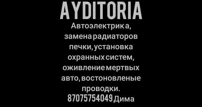 Автоэлектрик AudiToria востоновление мертвых авто, замена ра
