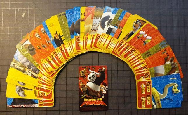 Vand schimb carti joc cartonase surprize colectie Kung Fu Panda Nestle