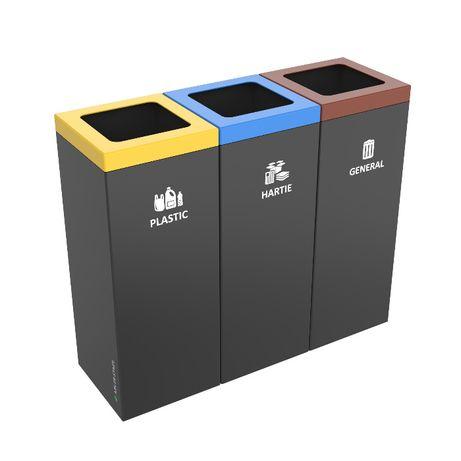 Cos / Cosuri gunoi colectare selectiva, pubele reciclare deseuri