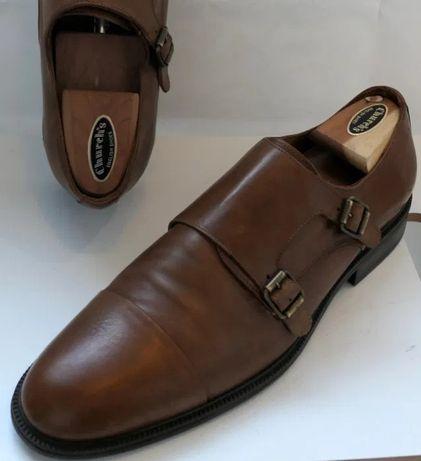 Vand pantofi Zara din piele (double monk)