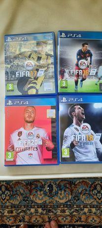 Jocuri PS4. Fifa 16, 17, 18