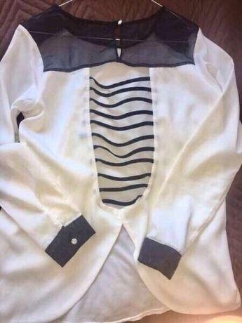 Страхотна Бяла риза с гол гръб