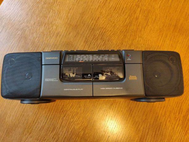 Radiocasetofon stereo DAEWOO dublucaset