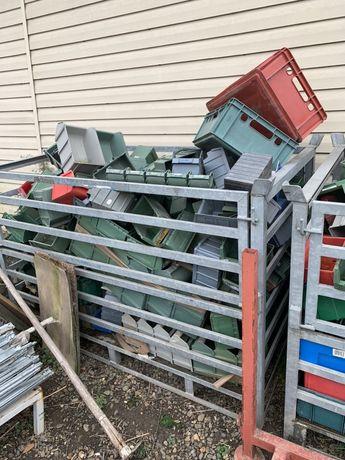 Cutii plastic depozitare