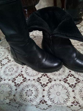 Сапоги женские 36 по 40размер кожаные.есть 40 +полусапожки Алматы.