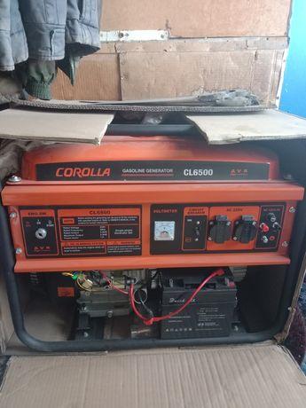 Продам электрогенератор 5.5кв