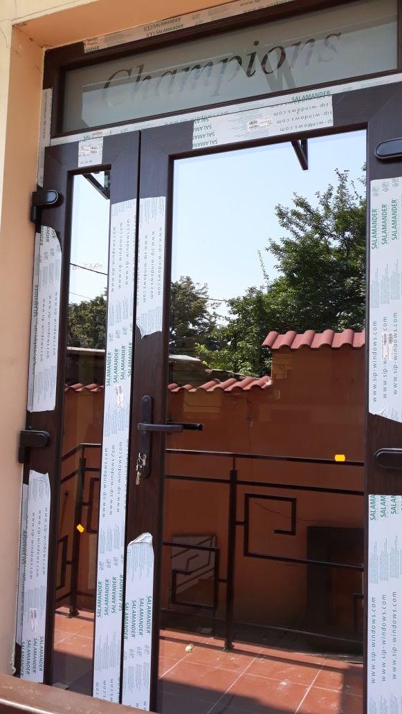 Tamplarie pvc SALAMANDER(ferestre si usi)