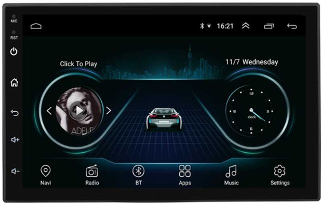 MP5 auto 2DIN touchscreen Android/WiFi/BT/GPS 10inch