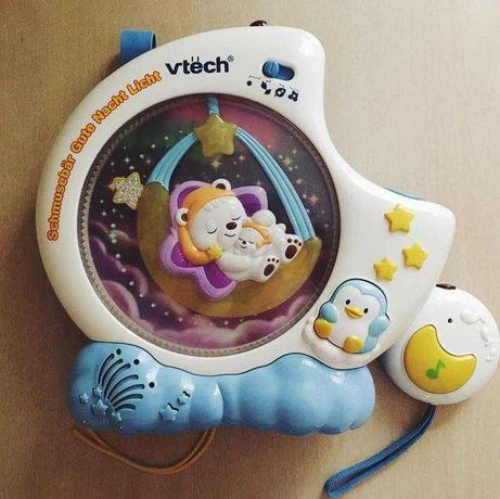 """Музыкальный ночник-проектор """" Сонный мишка"""" .Vtech Sleepy Bear"""