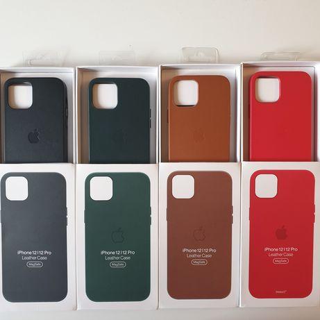 Husa piele iphone 12/12 Pro Magsafe