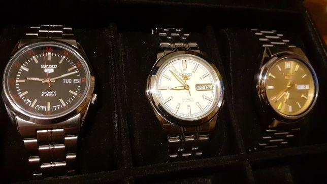 Lot ceasuri Seiko automatice
