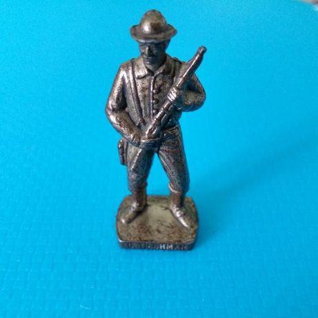 статуетка b.tilghman 1854г - 1924г usa фигурка made in italy войник