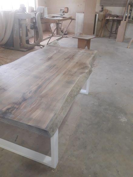 Трапезна маса от дъб(състарена)