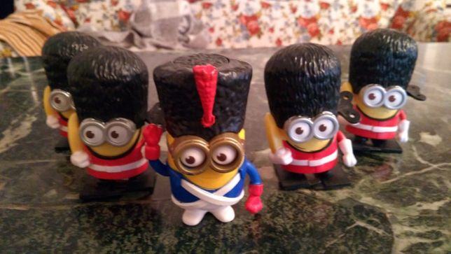 Set Minions, Happy Meal,Despicable Me