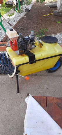 Atomizor tip roaba 80l cu motopompa Farmer MC20