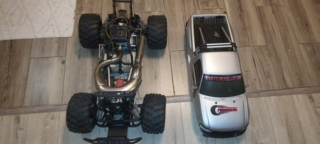Automodel rc Monster truk FG benzina nu nitro nu traxxas hpi hobao