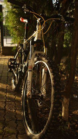 Bicicletă MTB trek 26 full susp DH Biltema Rockshox Shimano Tektro