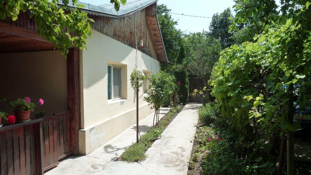 Lehliu Gara curte 772 mp2 cu 2 case + anexe, gaze(centrala)