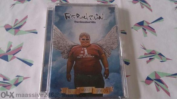 Fatboy Slim Greatest Hits оригинално DVD