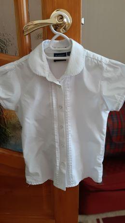 1500т. Белая школьная блузка