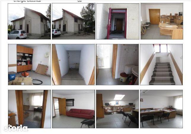 Sediu administrativ (birouri -S+P+M) -s.c 205 mp - teren 179 mp