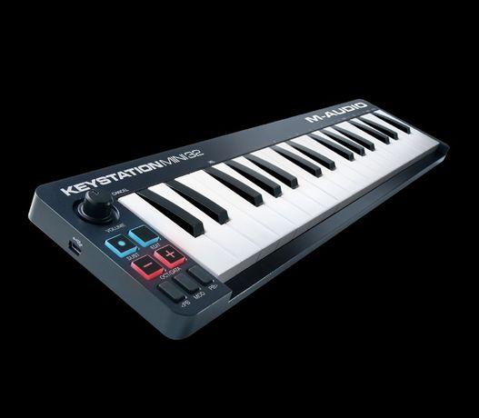 Midi клавиатура синтезатор М-audio keystation 32 mini