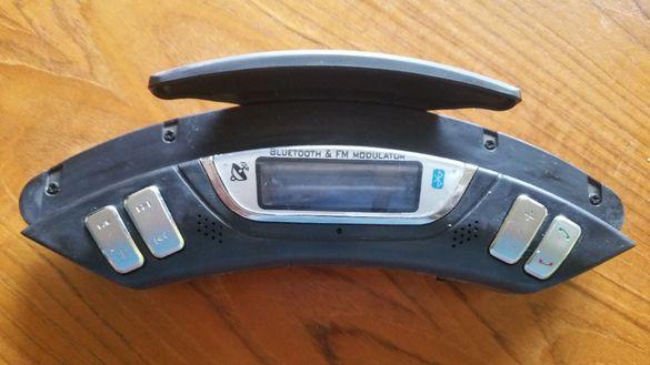 Безжичен MP3 FM трансмитер за волан