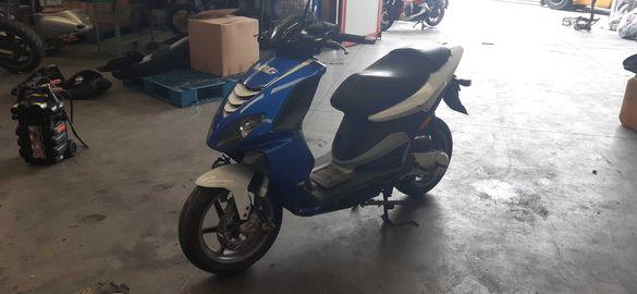 Мотоцикет,скутер Пиаджо НРЖ(Piaggio Nrg)50-На части