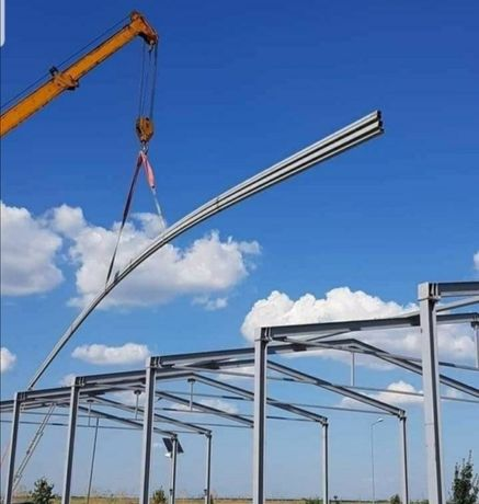 Vând hale metalice structuri demontabile mai multe detalii