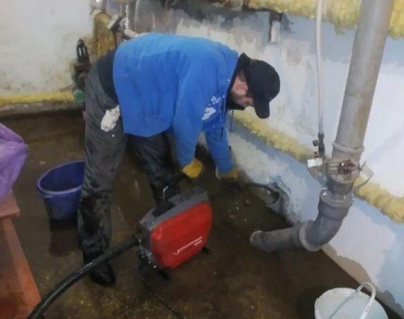 Услуги сантехника прочистка канализаций специальным оборудованием