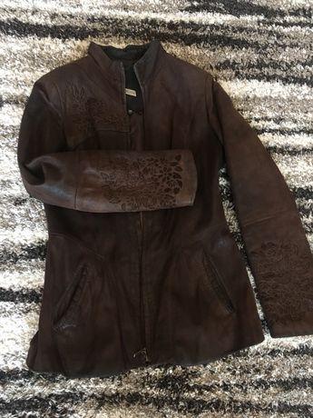 Женская куртка 44-46 натуральная кожа