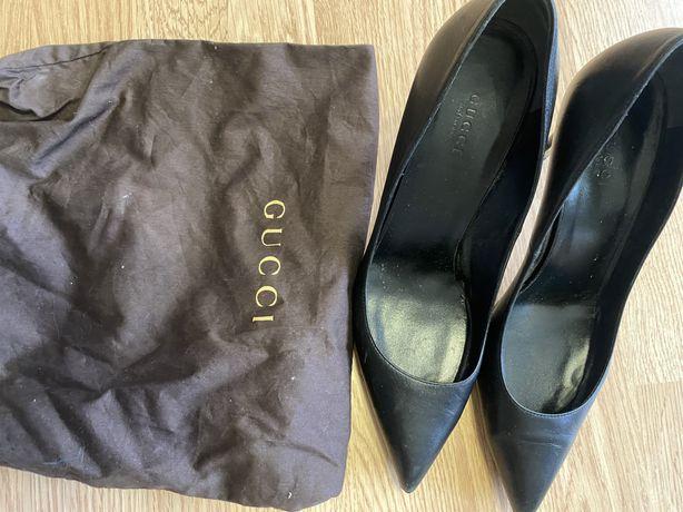 Туфли Gucci кожаные