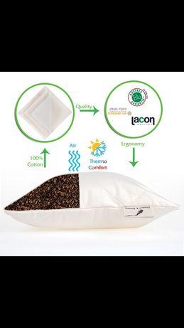 Възглавници различни размери с растителен био пълнеж