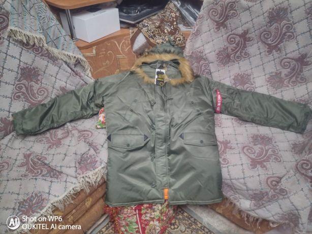 Продам новую курточку Аляску. Есть два цвета.