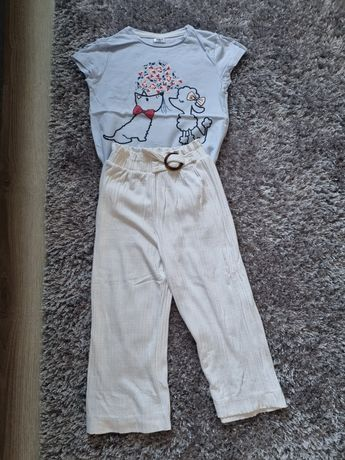 Pantaloni +tricou Zara