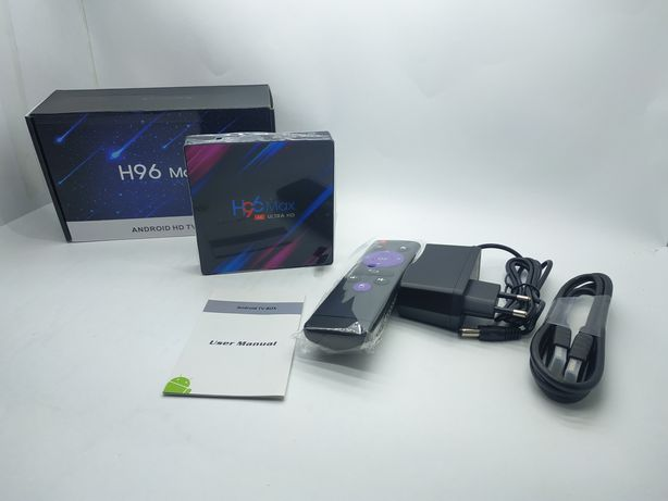 H96 Max RK3318 android smart tv box(твбокс) на любой телевизор