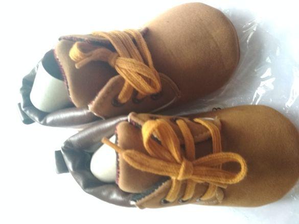Бебешки обувки нови 13см