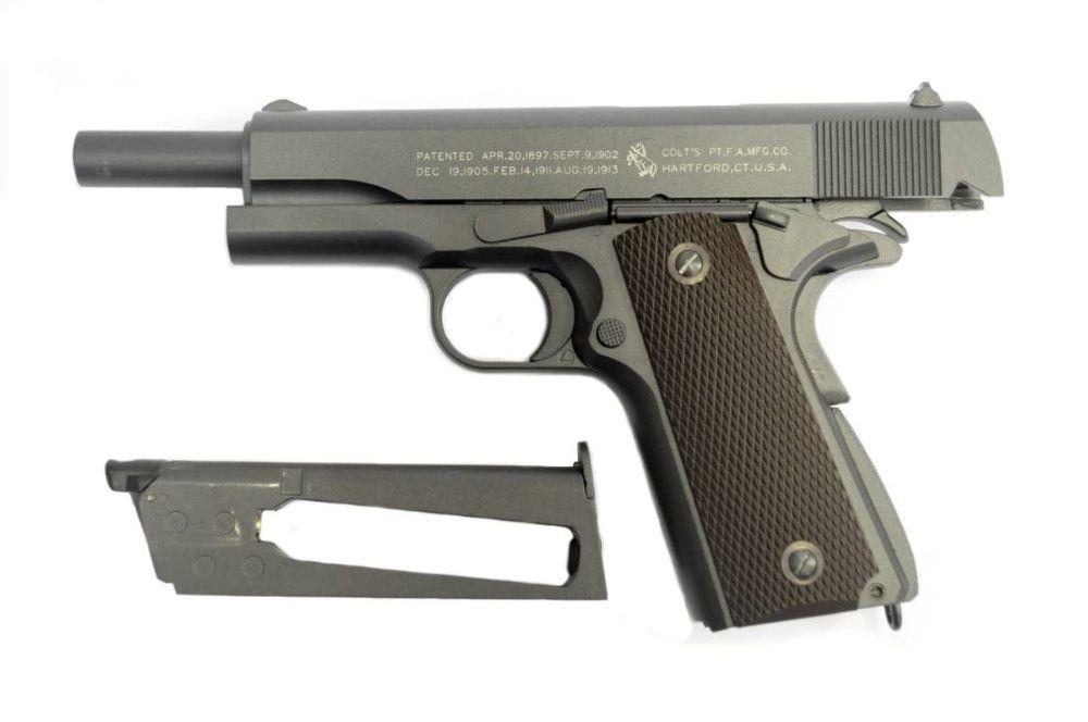 Pistol Colt1911 Anniversary 100 Co2 BlowBack Semi-Auto airsoft