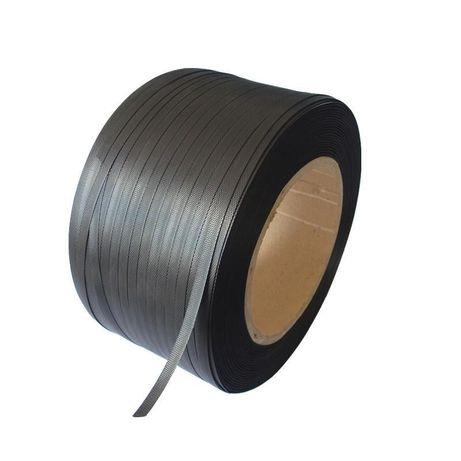 Banda pp alba verde neagra de legat, balotat, paletizat 12,16,19 mm