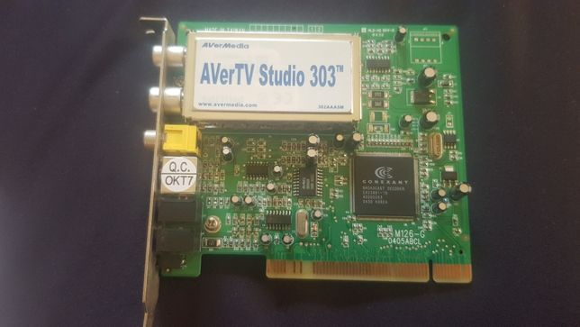 Tuner TV Avermedia Studio 303 PCI