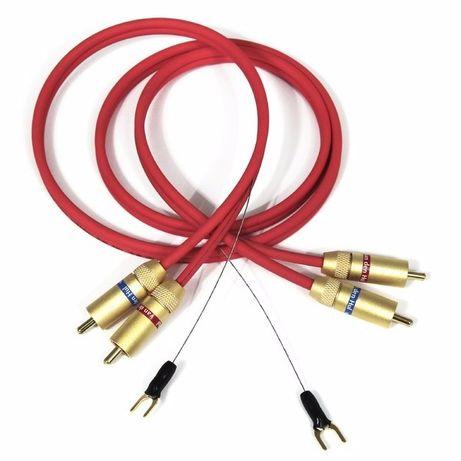 Cabluri olandeze phono 2RCA-2RCA Van den Hul The Thames Hybrid