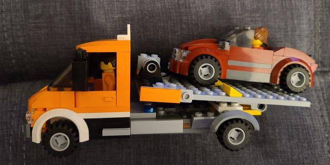 LEGO CITY Camion cu platforma 60017