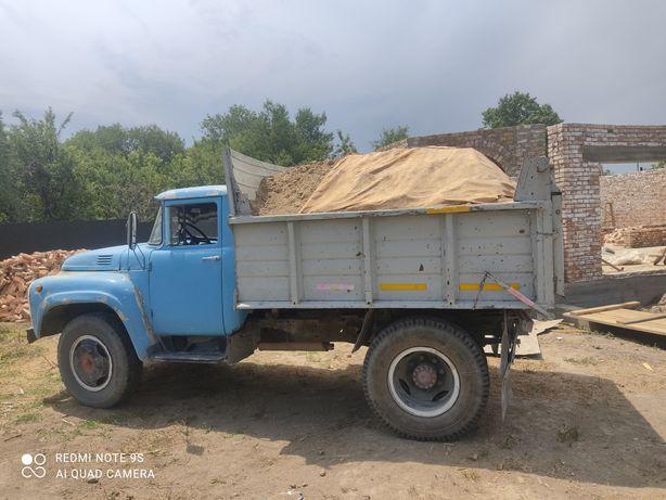 Доставка на зилу песок глина камни отсев сникерс щебень уголь Алматы