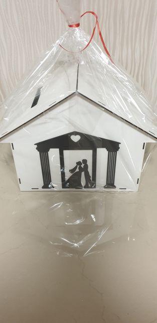 Casa pentru plicuri bani, nunta