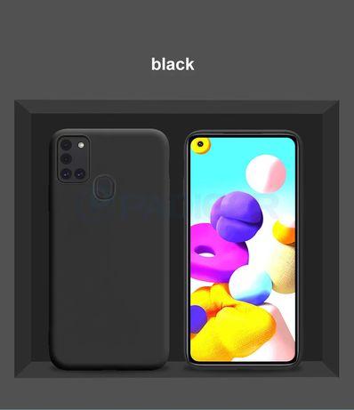 Матов Силиконов Кейс за Samsung Galaxy A21s A41 A51 A71 S20 S20+ Ultra