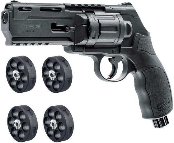 Pistol/Revolver AIRSOFT=>20jouli/2 incarcatoare/Bile+Co2 GERMANY
