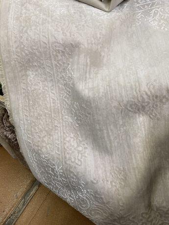 Covor lana crem deschis 90/200