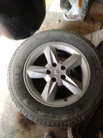 Джанти Рено джип 16 цола с гуми