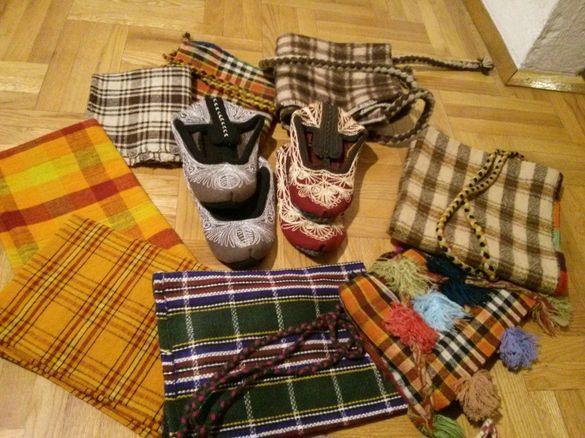 Родопски торби терлици престилки