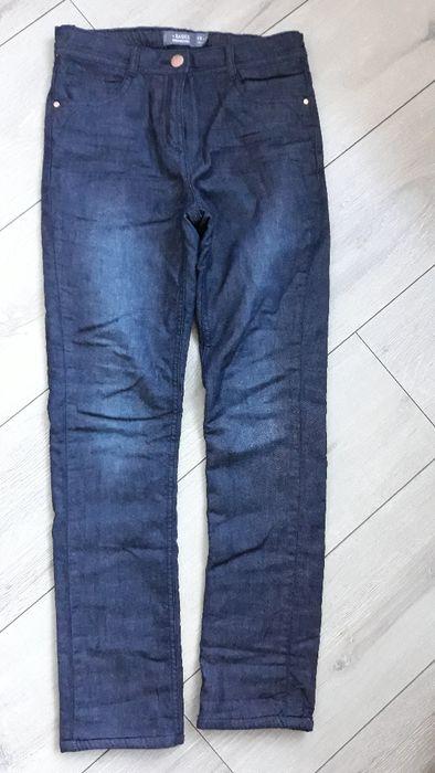 Pantaloni fetita blugi cu captuseala , de iarna, 140 cm, 10 ani Constanta - imagine 1